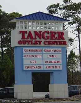 Tanger Outlet North at Highway 22